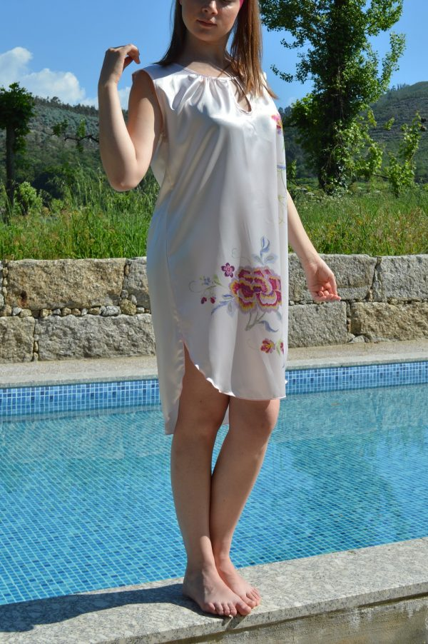 sustainable nightgown pink