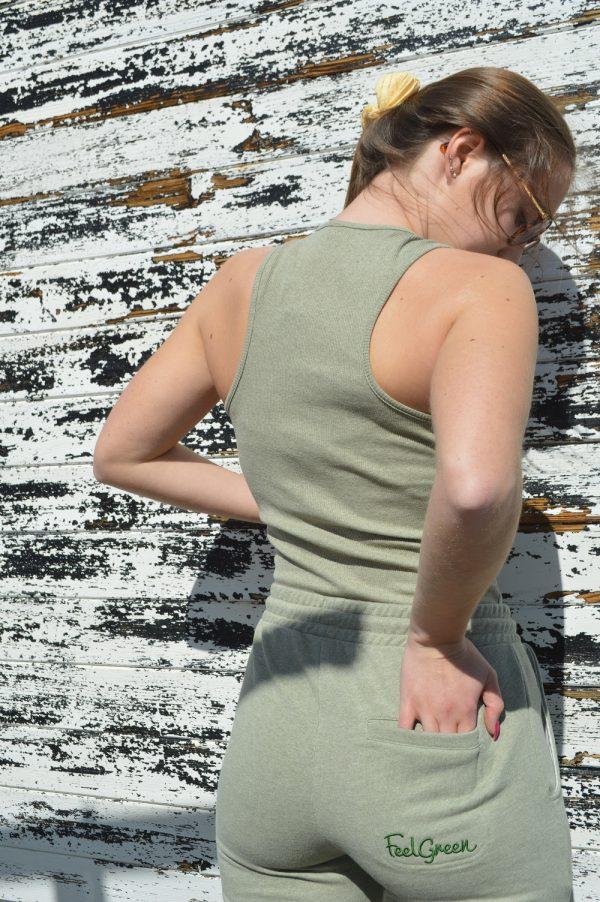 Calças Streewear FeelGreen oliva